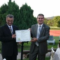 Ceremonia de transfer al mandatului de presedinte (2011-2012)