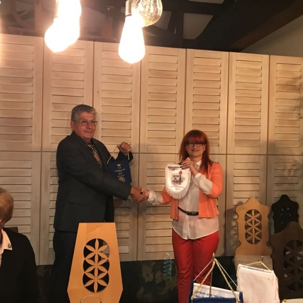 Intalnirea cu colegii rotarieni de la Clubul Rotary Beer-Sheva-Omarim