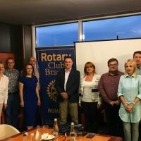 Intalnirea cu Excelența Sa Viorel Moșanu, Ambasador al României în Republica Belarus