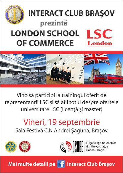 Prezentare London School of Commerce (eveniment Interact Brasov)